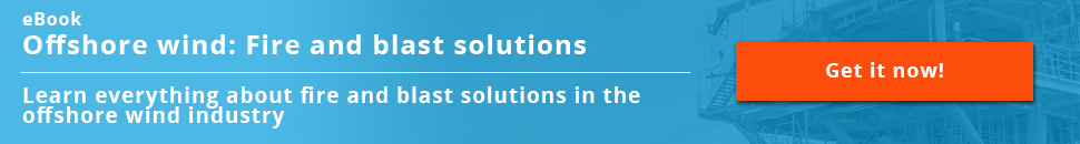Fire and blast solutions in the offshore wind industry