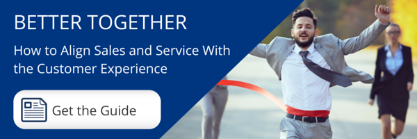 Better Together: How to Align Sales and Service With the Customer Experience