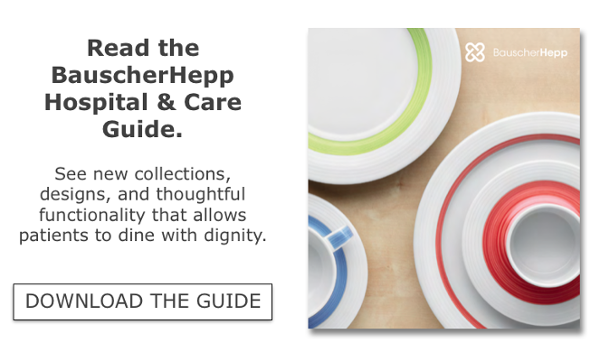 Hospital and Healthcare Dinnerware Guide CTA