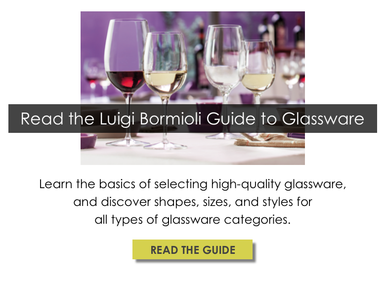 Luigi Bormioli Guide to Glassware