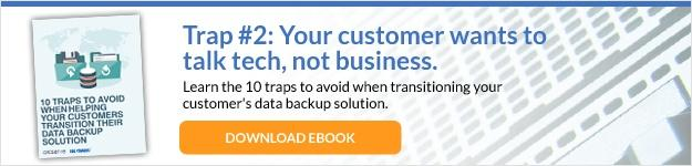 10 Traps to Avoid When Transitioning Your Customer's Data Backup Solution