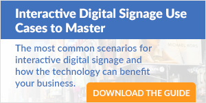 Interactive Digital Signage Use Cases to Master