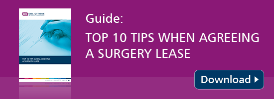 How to agree a GP surgery lease