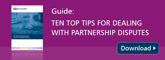 10 tips for dealing with GP partnership disputes