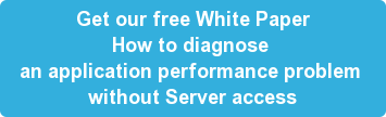 How to diagnose an application per