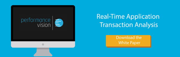 Real-time Application Transaction Analysis