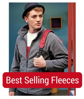 man in best seller fleece
