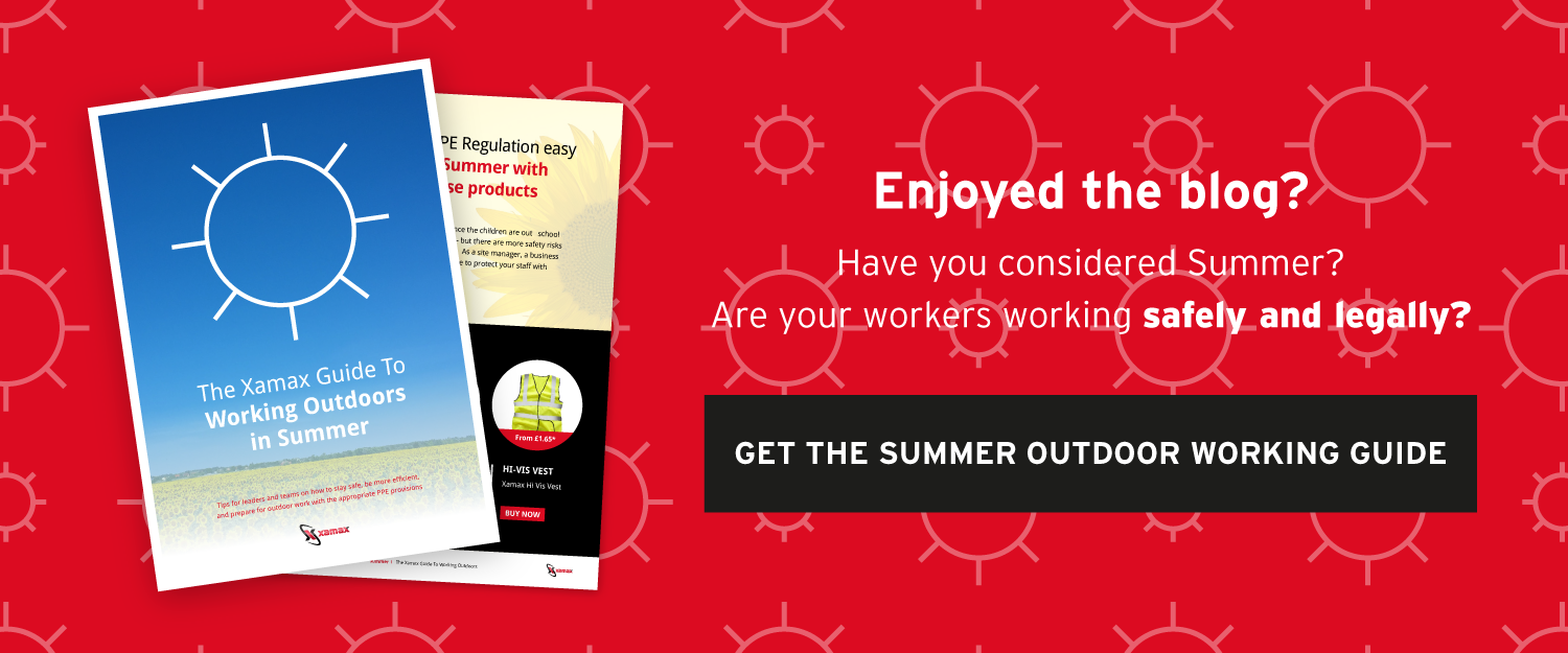 Outdoor working in summer guide