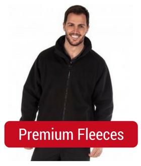 man in premium fleece