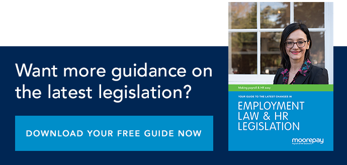More guidance on the latest HR & employment law legislation