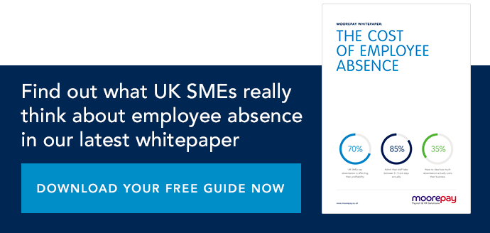 Understand the cost of employee absence to SMEs