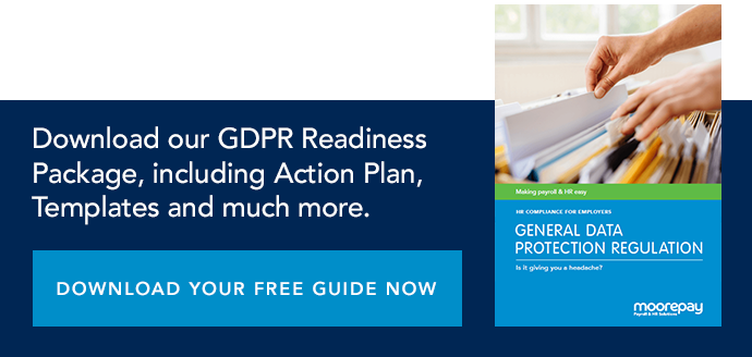 Download your FREE, essential GDPR Readiness Package