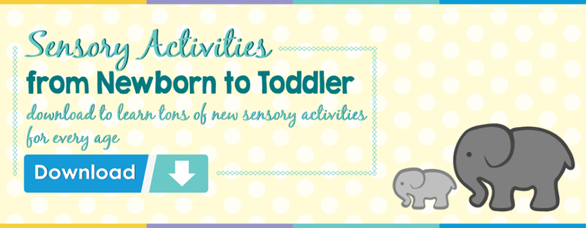 sensory activities by age chart