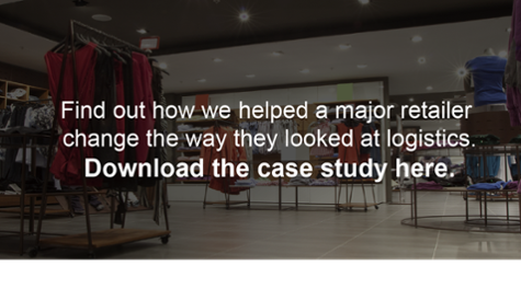 Find out how we helped a major retailer change the way they looked at  logistics. Click here to download the case study!