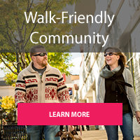 Gold Level Walk Friendly Community - Learn More