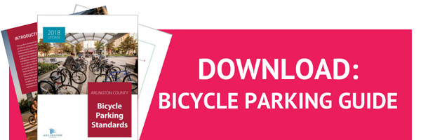 Download the Bicycle Parking Guide from Arlington County, Virginia
