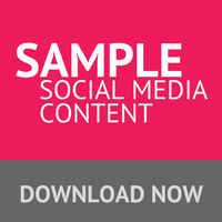 Download sample social media content for your property