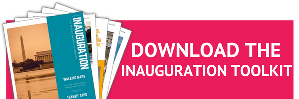 How to get to the Inauguration | Download the Inauguration Toolkit