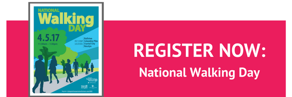 National Walking Day | Register Now