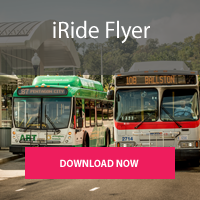 Download the iRide Flyer for Love the Bus Week