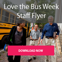 Download Love the bus week Staff Flyer