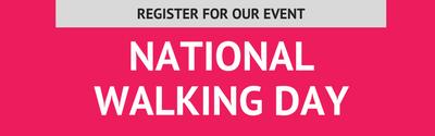 Register for National Walking Day
