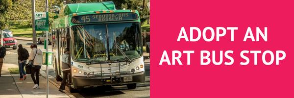 Adopt an ART bus stop CTA
