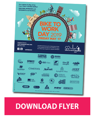 Download the 2019 Bike to Work Day Flyer