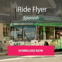 Donwload iRide flyer in Spanish