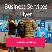 Download our flyer about free business services