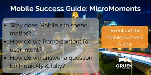 The Magic of Micro-Moments: A Gruen Mobile Success Guide