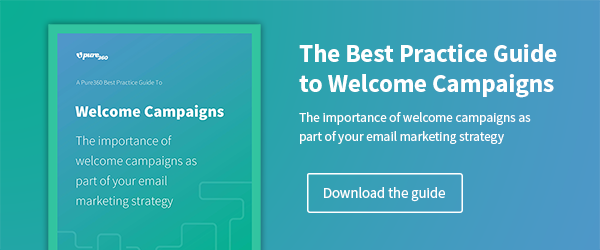 Download the Best Practice Guide to Welcome Campaigns