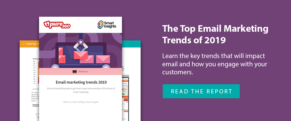 Email Marketing Trends 2018 Report