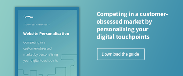 Download the Best Practice Guide to Website Personalisation