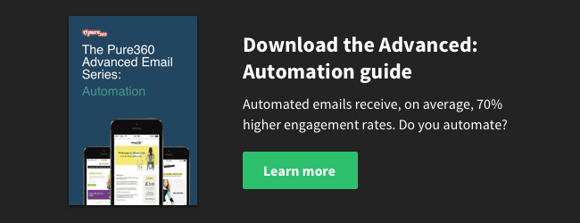 Download the Advanced Email Series: Automation Guide