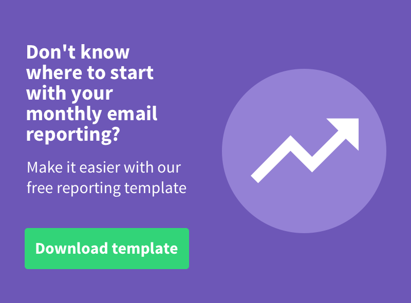 Get your free email reporting template
