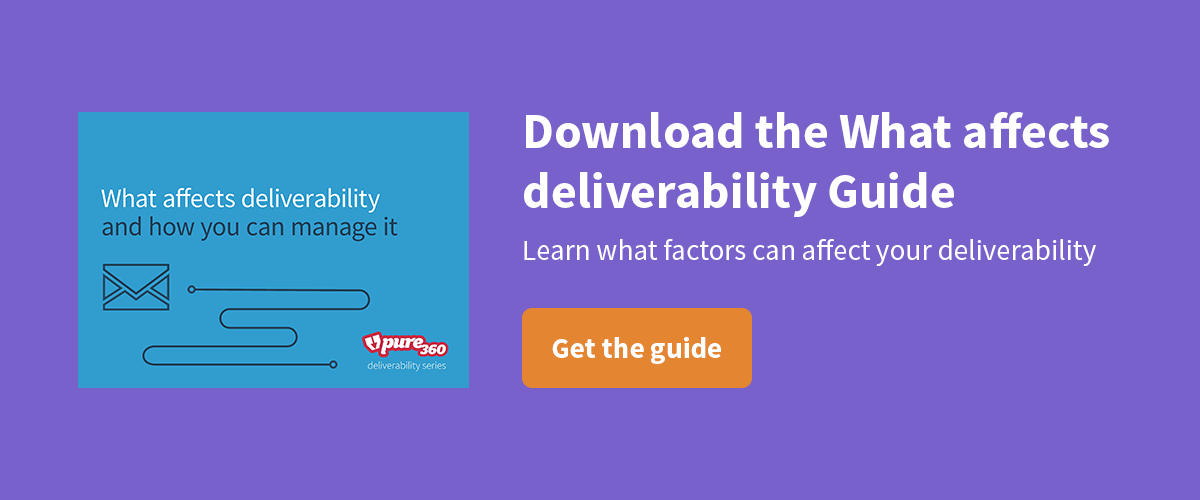 Download the What affects deliverability guide