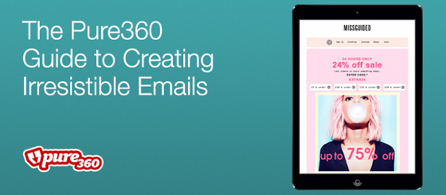 The Pure360 Guide to Creating Irresistible Emails