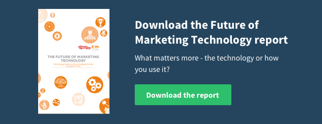 Download the Future of Marketing Technology report