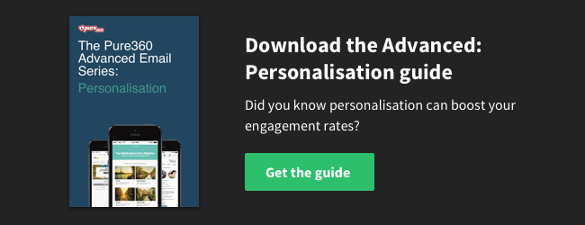 Download the Advanced Email Series: Personalisation Guide