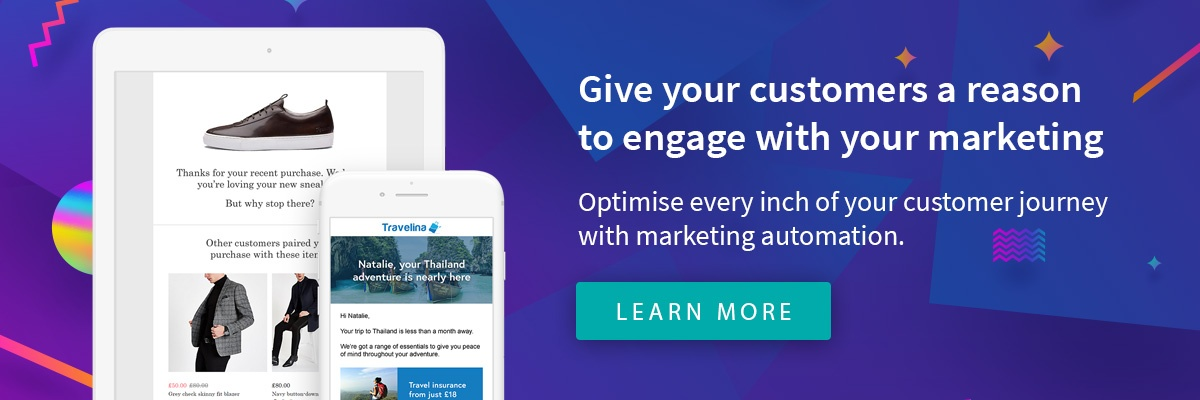 Transform your customer marketing