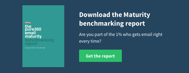 Download the Pure360 Email Maturity Model Benchmarking report