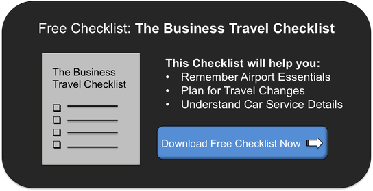 Business Travel Checklist, Free offer