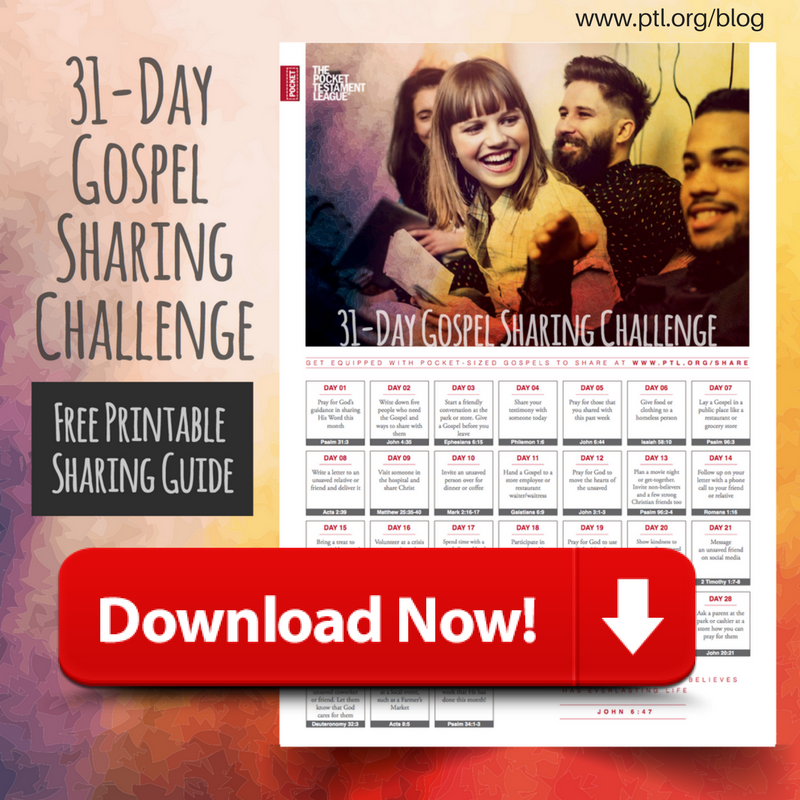 Sharing God's Word - Download the 31 Day Challenge Now!
