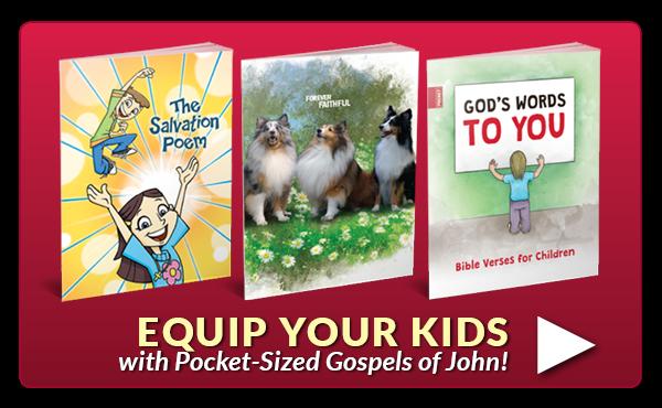 Equip Your Kids with Pocket-Sized Gospels!