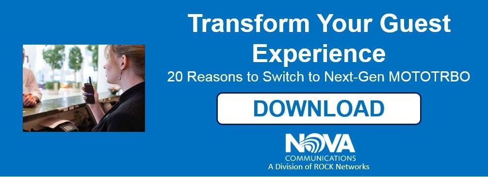 20 Reasons to Switch to Next-Gen Motorola MOTOTRBO from Nova Communications