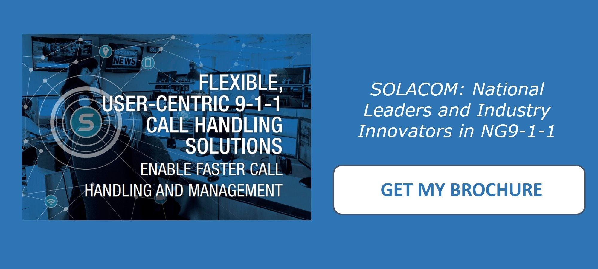 Solacom Brochure ROCK Download Offer NG9-1-1