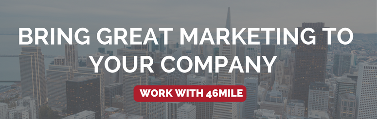 bring great marketing to your company banner