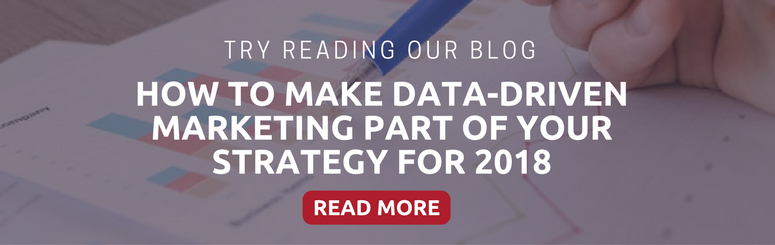 how to make data drive part of your strategy
