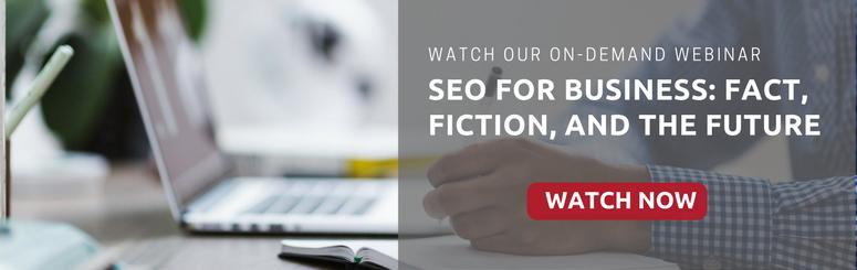 On-Demand Webinar on SEO